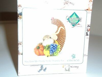 """Charming TAILS """"You Give Me Plenty To Be Thankful For"""" DEAN GRIFF NIB"""