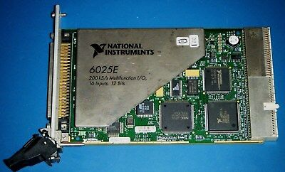 NI PXI-6025E 16-Bit Multifunction DAQ for PXI, National Instruments *Tested*