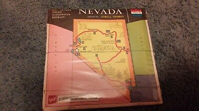 Nevada Viewmaster Reel Set A 155 With Booklet - Vintage Rare New Sealed