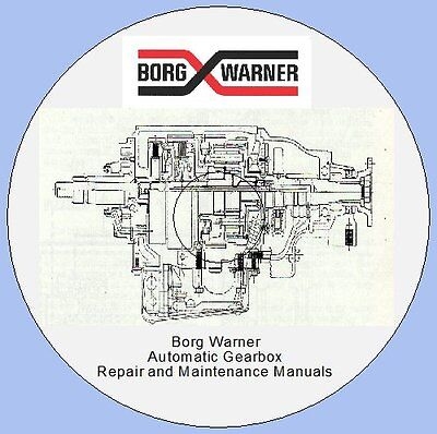 Borg Warner Auto Gearbox Instruction Manuals,jaguar, Triumph Stag