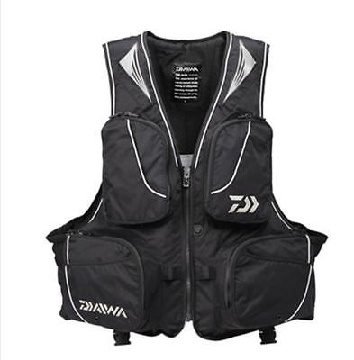 DF6305 Windproof Fly Fishing Vest Life Clothing Vest Detachable Breathable Lifej