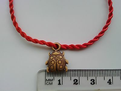 Chinese Feng Shui Charm Bracelet 'Lucky Bug' Blessing Amulet Present Gift