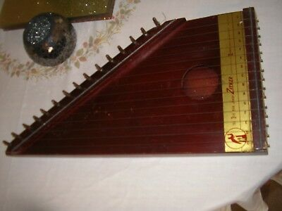 "Vintage 16"" The 3rd Man Junior Zither Harbert and CO"