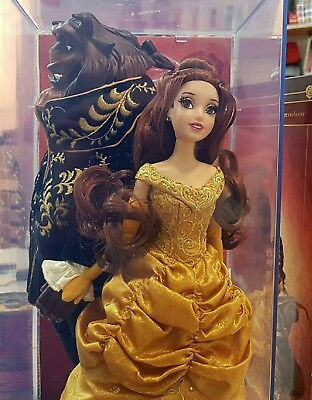 Disney store limited edition Belle and Beast
