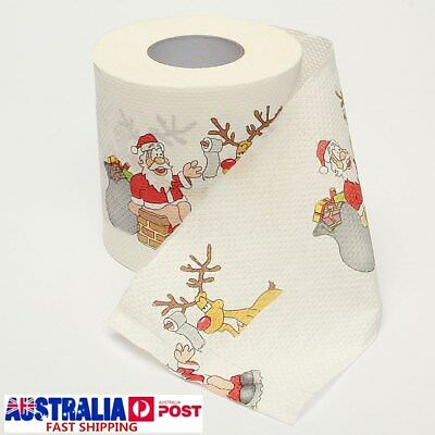 5Roll Santa Claus Merry Christmas Toilet Paper Table Living Room Decoration