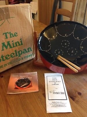 Mini Steelpan and Stand with accessories
