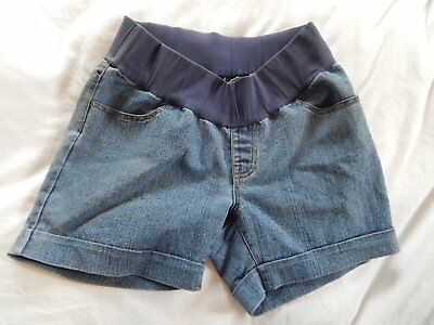 ROOM 4 2 denim maternity shorts sz 8 / Extra Small, excellent condition