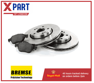 BRAKE DISCS AND PAD FORD FOCUS C max  FRONT (Ø 278 mm) OE Quality