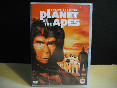 DVD pal NEW ORIGINAL Escape from the Planet of the Apes