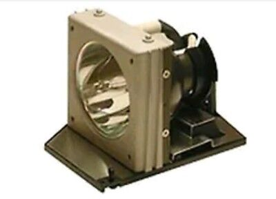 Replacement lamp for nobo 1901868 projector with housing.