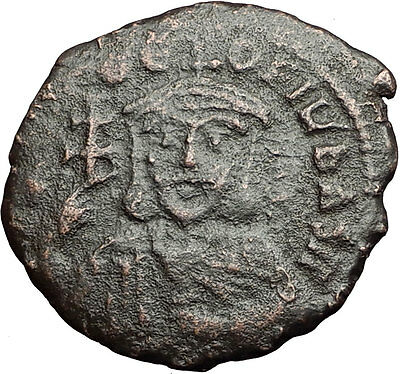 THEOPHILUS 835AD Constantinople Follis Ancient Medieval Byzantine Coin i58952
