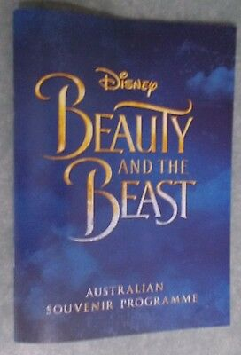 Disney's Beauty And The Beast Australian Premiere Programme