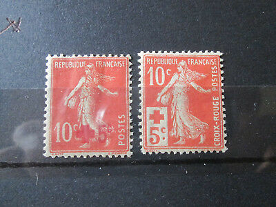 Timbre France Yt 146/147 Neuf X