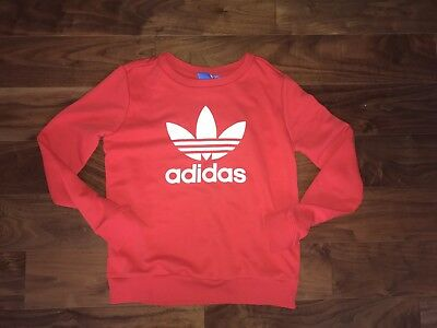 BNWOT Red Adidas Jumper 8 S