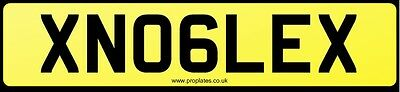 Xn06Lex Tvr Number Plate