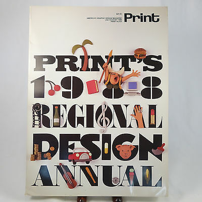Print: America's Graphic Design Magazine Jul/Aug 1988 XLII:IV Regional Annual