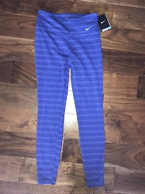 BNWT Nike Dri Fit Blue Leggings S