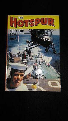 The Hotspur Book For Boys 1972 Vintage Adventure/Action Annual