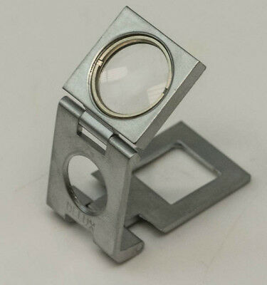 10x Lens magnification table loupe eyeglass bobby jewellers magnifying glass