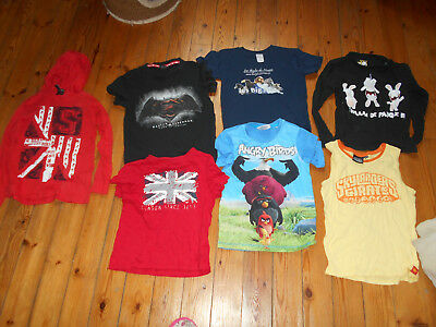 Lot De 7 Tee Shirts Garcon - Taille 7/8 Ans