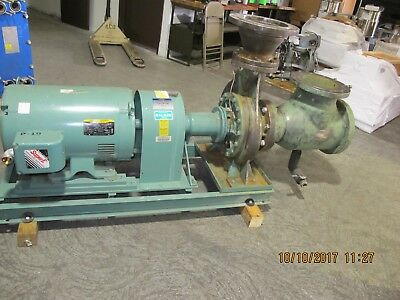 8X6X13 Frame Mount End Suction Pump 75HP 1620GPM @120ft Head Working Pull