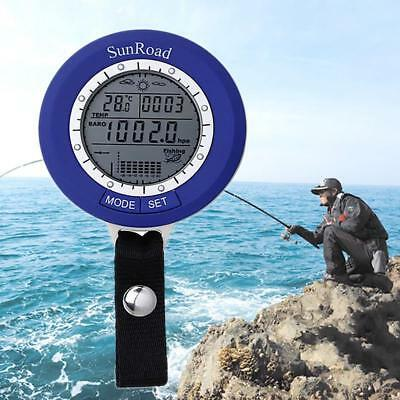 Sunroad SR204 Fishing Barometer - Tracks 6 Locations At Once, Air Pre