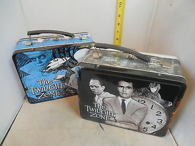Lot of Two Twilight Zone Lunch Boxes No Thermos