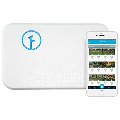Rachio 8ZULW-B-CAN Smart Sprinkler Controller, 8 Zone 2nd Generation, White