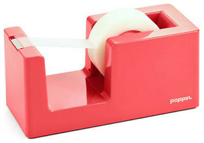 NEW Poppin Tape Dispenser - Coral Salmon Pink FREE SHIPPING