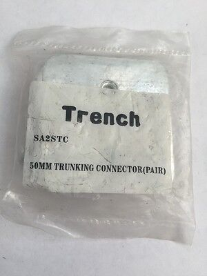 TRENCH Cable Trunking Galvanised Coupler for 50mm high trunking SA2STC (230)