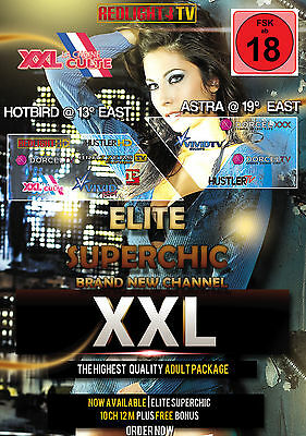 Redlight Elite Superchic 11 Sender Viaccess Card 12 Monate inkl. Brazzer FSK 18