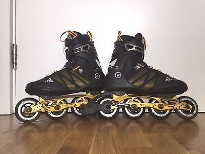 Mens K2 F.I.T. BOA 84 Inline skates size 9 UK superb condition RRP £239