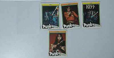 Kiss Monty punk the new wave vintage SMALL MINI cards set ACE PETER GENE