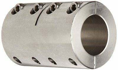 Ruland SPX-28-28-SS Two-Piece Clamping Rigid Coupling, Stainless Steel, 1-3/4""