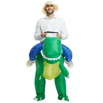 Anself Adult Inflatable  Costume Suit Blow Up Fancy Dress Party New C8F1