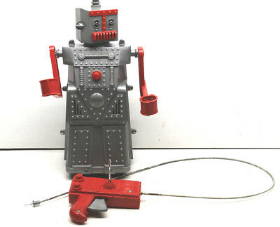 Vintage 1959 Ideal Toys Robert The Robot Plastic Remote Control Toy Version 3