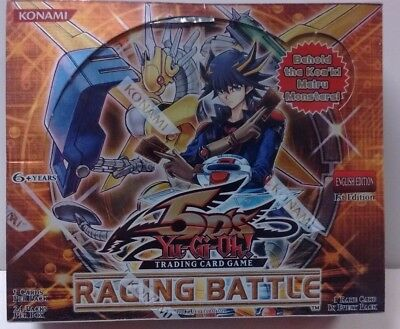 1st Edition Raging Battles Yu-Gi-Oh Booster Box Factory Sealed (24 Packs)