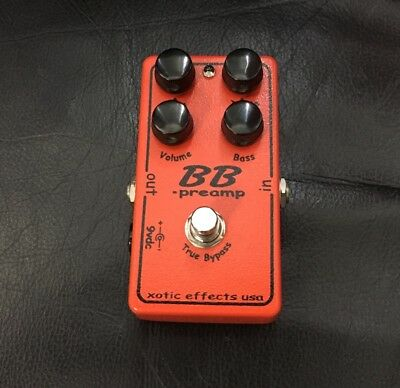 Xotic Effects BB Preamp Overdrive/Boost Guitar Pedal