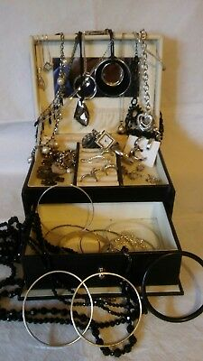 Beverly Hills Polo Club Jewellery Case With Costume Jewellery