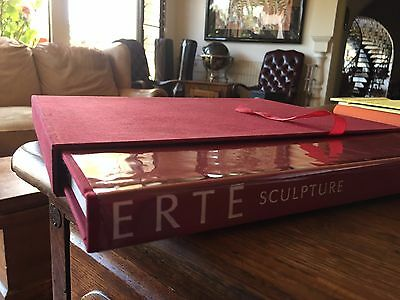 Erte Sculpture Book,limited edtition,signed and numbered.