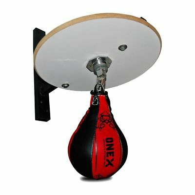 Kids 2 PC Speed Ball Platform Set Boxing Gloves Swivel Stand Bracket MMA Set