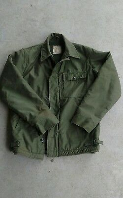 Vintage USN A-2 deck cold weather jacket size small (34-36)
