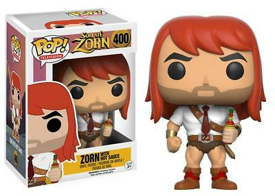 Son Of Zorn With Hot Sauce Pop Television Vinyl Figure Funko New Vaulted