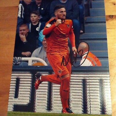MATTY DOHERTY ( WOLVES ) signed autographed 10x8 photo signed
