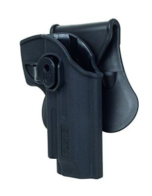 SWISS ARMS CINTURA HOLSTER IN POLIMERI Nuovo Sport 3559966036549 nero Large