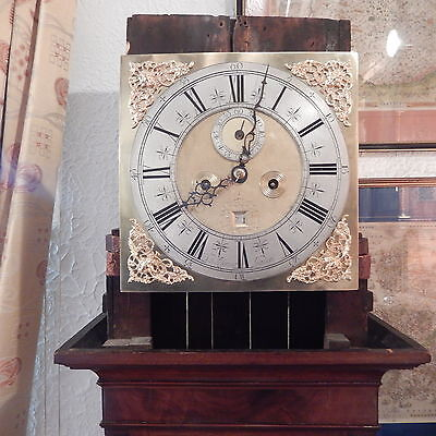 LONGCASE CLOCK  - Daniel Le Counte LONDON 8day, v earlylate C17th price reducn