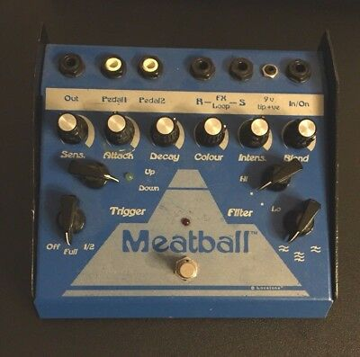 Lovetone Meatball Envelope Filter Pedal Dynamic Auto wah Modulation