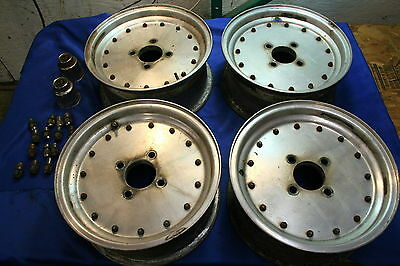 MG MGB Alloy 2 Piece Racing Wheels