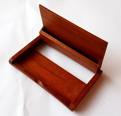 Wooden name card business card holder or for storage id card