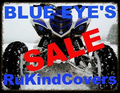 Yamaha Raptor 660 BLUE ALL YEARS Eyes Head Light Covers R UKINDCOVERS Set of two